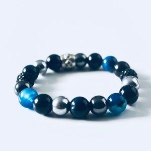 Men's Bead Bracelet   FINLEY
